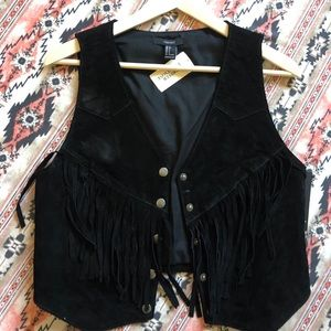 Brand New With Tags Women's Fringe Vest